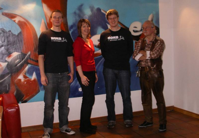 Spendenübergabe Fachhochschule München für Hilfe für Kids