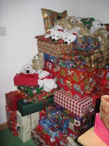 Weihnachtsgeschenke Unternehmen planworx für Hilfe für Kids