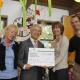 Scheckübergabe WWK Kinderstiftung an Hilfe für Kids bei den Clubmäusen