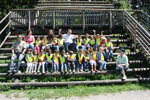 Hilfe für Kids - Ausflug mit der WWK Kinderstiftung und den Clubmäusen