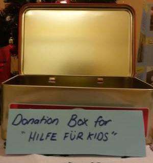 """Weihnachtsspende der KiTa """"Little Giants"""" für Hilfe für Kids"""
