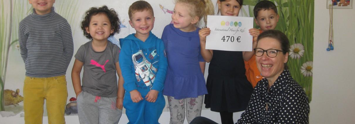 Spende International House for kids an Hilfe für Kids